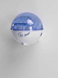 Germstar podajalnik belo-modra kombinacija